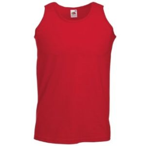 Fruit of the Loom Athletic Vest – Red