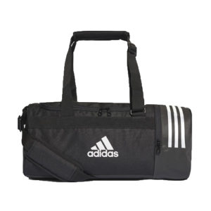 Adidas 3S Convert Black Duffle Sports Equipment Bag – Small