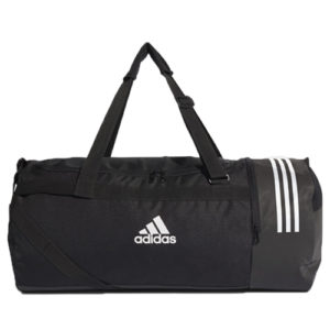 Adidas 3S Convert Black Duffle Sports Equipment Bag – Large
