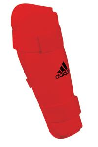 adidas PU Shin Pads – Red