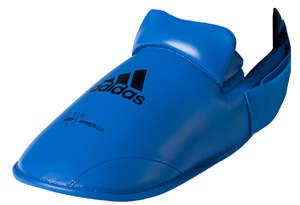 adidas WKF Foot Protector – Blue