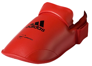 adidas WKF Foot Protector – Red