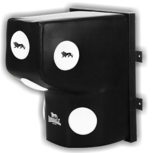 Lonsdale L-60 Super Pro Leather Wall Mount Striking Bag – Black/White