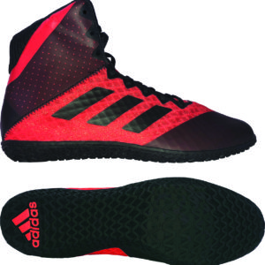 Adidas Mat Wizard 4 Wrestling / Boxing Boot – Black/Red