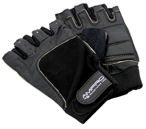 Ampro Classic Leather Training Weightlifting Glove