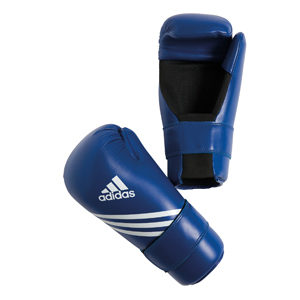 adidas Semi Contact Gloves – Blue