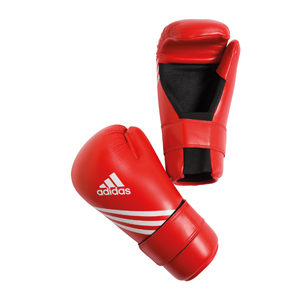 adidas Semi Contact Gloves – Red