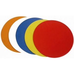 BXR Fitness 9″ Agility Dots / Markers [10x Assorted Colours]