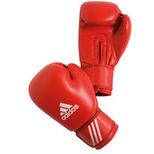 adidas AIBA 10oz Boxing Gloves – Red