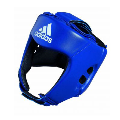 adidas AIBA Style Training Head Guard – Blue