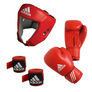 adidas AIBA Boxing Set – Red