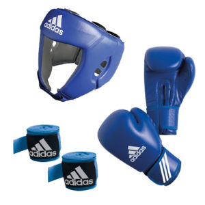 adidas AIBA Boxing Set – Blue