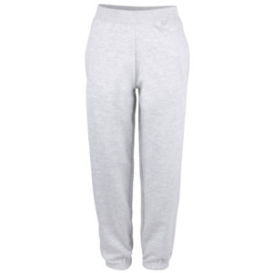 UNBRANDED College Cuffed Sweatpants – Grey