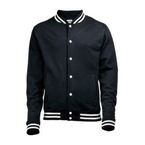 AWDis College Jacket – Black