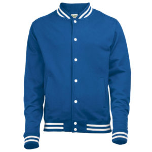 AWDis College Jacket – Royal Blue