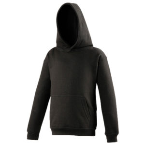 UNBRANDED Junior/Kids Workout Hoodie – Black