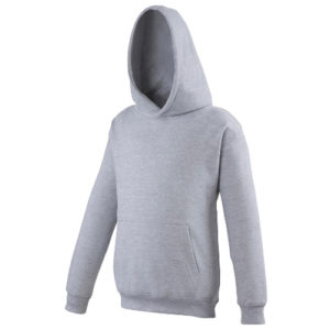 UNBRANDED Junior/Kids Workout Hoodie – Grey