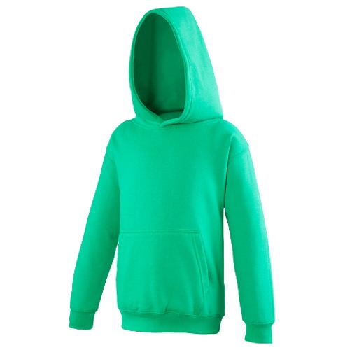 UNBRANDED Junior/Kids Workout Hoodie – Green