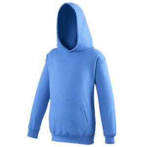 UNBRANDED Junior/Kids Workout Hoodie – Royal Blue