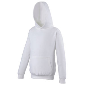 UNBRANDED Junior/Kids Workout Hoodie – White