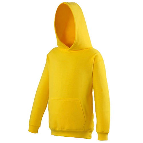 UNBRANDED Junior/Kids Workout Hoodie – Yellow