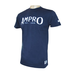 Ampro London Original T-Shirt – Navy