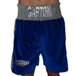 Ampro Custom Made Velvet Boxing Shorts POA