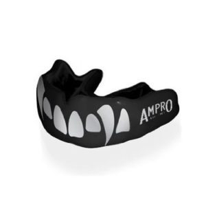 Ampro Custom Dentist Performance Mouth Guard – Silver Fangs