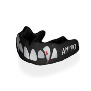 Ampro Custom Dentist Performance Black Mouth Guard – Vampire Fangs