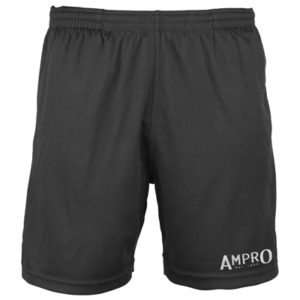 Ampro Reflective Logo Cool Shorts – Black