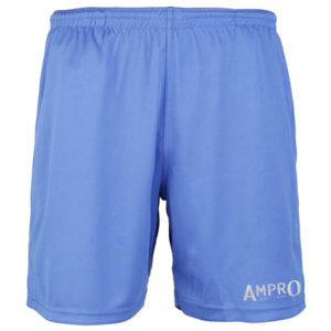 Ampro Reflective Logo Cool Shorts – Royal Blue