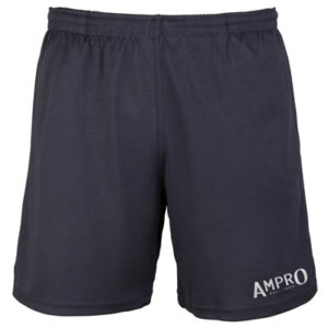 Ampro Reflective Logo Cool Shorts – French Navy