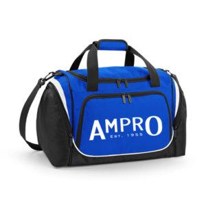 Ampro Pro Team Locker Bag – Bright Royal/Black/White