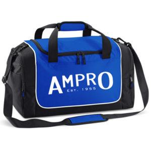 Ampro Teamwear Locker Kit Bag – Bright Royal/Black/White