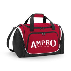 Ampro Pro Team Locker Bag – Classic Red/Black/White