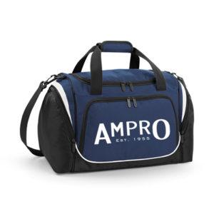 Ampro Pro Team Locker Bag – French Navy/Black/White