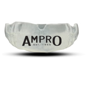 Ampro Dental Custom Made Performance Mouthguard – Clear/Black