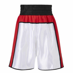 Anthony Joshua Red, White & Black Boxing Shorts