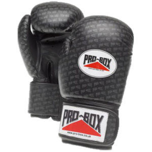 Pro-Box 'Base Spar' Junior Gloves – Black Logo