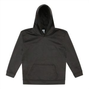 UNBRANDED Kids Sports Polyester Hoodie – Black