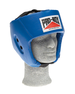 Pro-Box 'Base Spar' PU Sparing Headguard – Blue