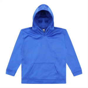 UNBRANDED Kids Sports Polyester Hoodie – Blue