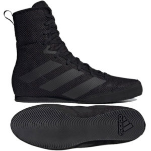 Adidas Box Hog 3 Boxing Boots – Black/Black