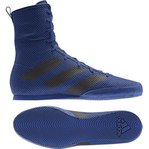 Adidas Box Hog 3 Boxing Boots – Navy/Black