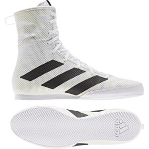 Adidas Box Hog 3 Boxing Boots – White/Black