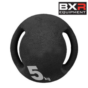 BXR 5kg Medicine Ball With Handles – Black