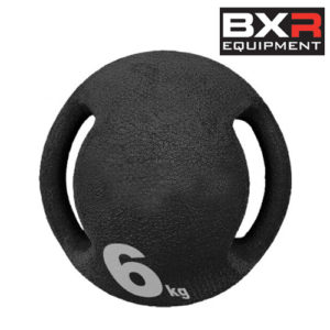 BXR 6kg Medicine Ball With Handles – Black