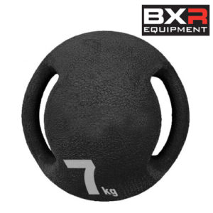 BXR 7kg Medicine Ball With Handles – Black