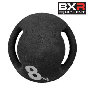 BXR 8kg Medicine Ball With Handles – Black