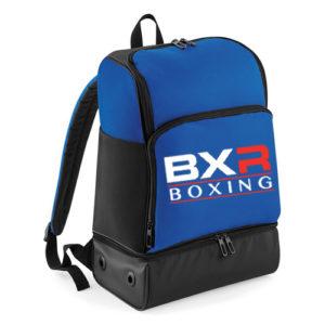 BXR Boxing Hardbase Backpack – Royal Blue/Black